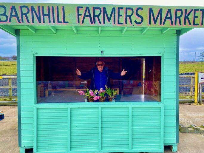 Barnhill Farm market stalls